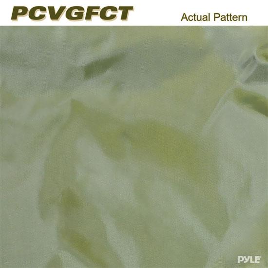 PyleSports PCVGFCT60 Armor Shield Golf Cart Storage Cover 2 Passenger Olive Thumbnail 5