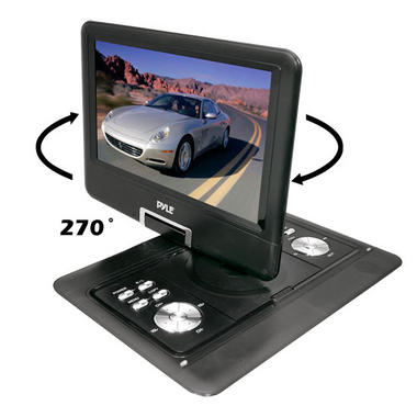 "Pyle-Home PDH14 14""Portable Tft/Lcd Monitor W/ Dvd Thumbnail 5"
