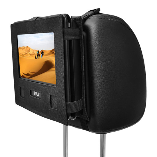 "Pyle-Home PDH9 9""Portable Tft/Lcd Monitor W/Dvd Player Thumbnail 2"