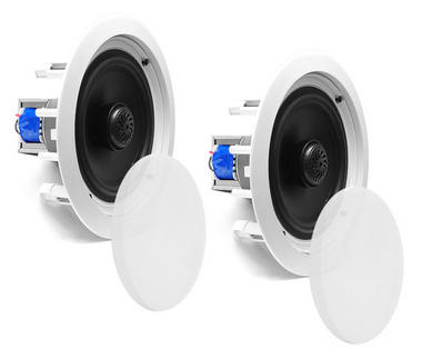 "Pyle PDIC60T 6.5"" 2-Way In-Ceiling In-Wall Speakers 70V Tap Tapping Transformer Thumbnail 4"
