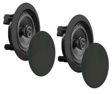 "Pyle Home PDIC61RDBK 6.5"" 2-Way In-Ceiling In-Wall Speaker System Black Thumbnail 5"