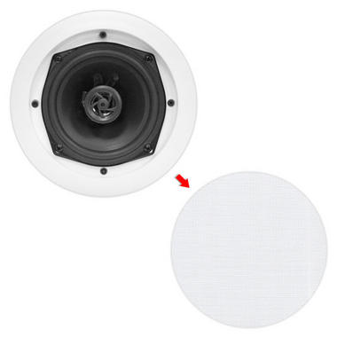 Pyle-Home PDIC61RD 6.5'' Two-Way In-Ceiling / Wall Speaker System Full Range Pair Thumbnail 5