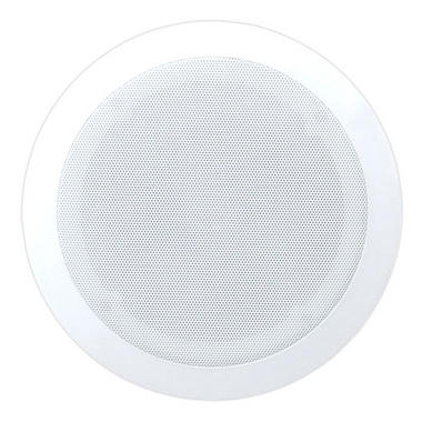 PyleHome PDIC81RD In-Wall/Ceiling 8-inch Speaker System, 2-Way Flush Mount White Thumbnail 2