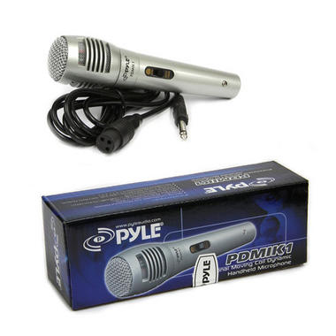 Pyle-Pro PDMIK1 Professional Moving Coil Dynamic Handheld Microphone Thumbnail 2