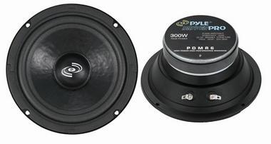 """Pyle PDMR6 6.5"""" 300w 8 Ohm DJ Cabinet Sealed Paper Midrange Mid Range Driver Thumbnail 1"""