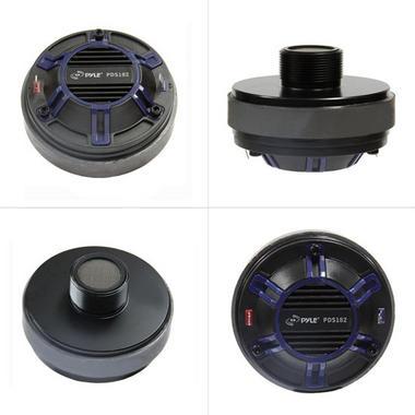 Pyle PDS122 Compression Driver Tweeter Pro Audio Speaker Replacement DJ Disco Thumbnail 2
