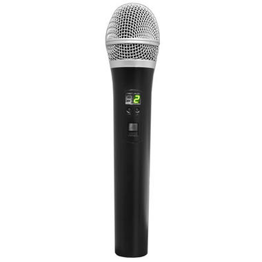 PylePro PDWM1902 Premier Series Professional UHF Wireless Handheld Microphone System with Selectable Frequencies Thumbnail 4