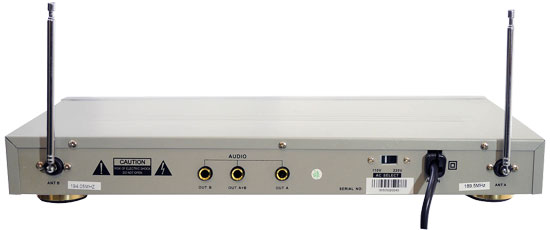 PYLE-PRO PDWM2000 - Dual VHF Wireless Microphone System Thumbnail 2