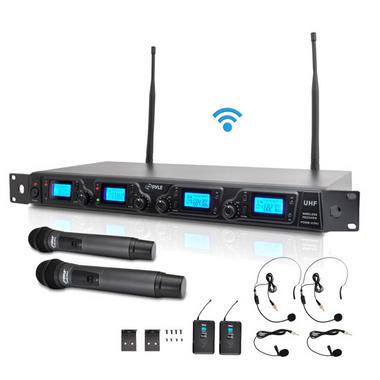 PYLE-PRO PDWM4350U 4 Channel UHF Mic system Thumbnail 1