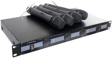 PYLE-PRO PDWM5000 - 4 Mic VHF Wireless Microphone System Thumbnail 1