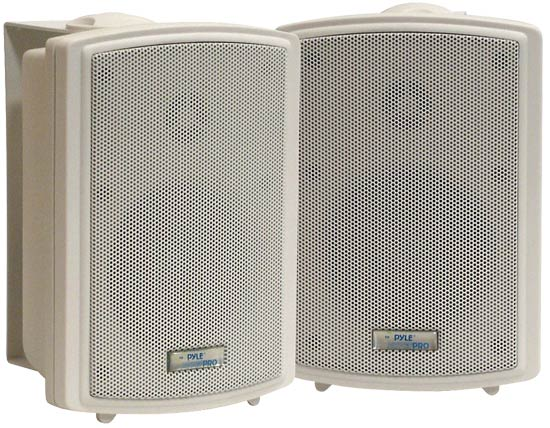 Pyle-Home PDWR33 3.5'' Indoor/Outdoor WaterProof Wall Mount Speakers Thumbnail 1