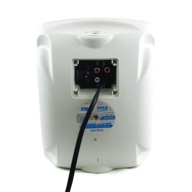 "Pyle Bluetooth Waterprooof Indoor Outdoor 5.25"" 135mm 600 Watt White Speakers Thumbnail 2"