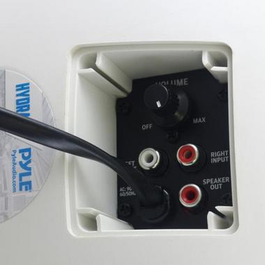 "Pyle Bluetooth Waterprooof Indoor Outdoor 5.25"" 135mm 600 Watt White Speakers Thumbnail 3"