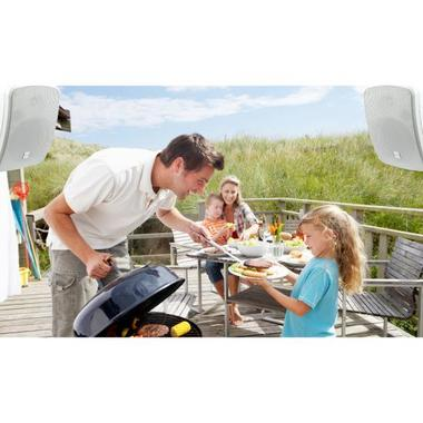 "Pyle Bluetooth Waterprooof Indoor Outdoor 5.25"" 135mm 600 Watt White Speakers Thumbnail 4"