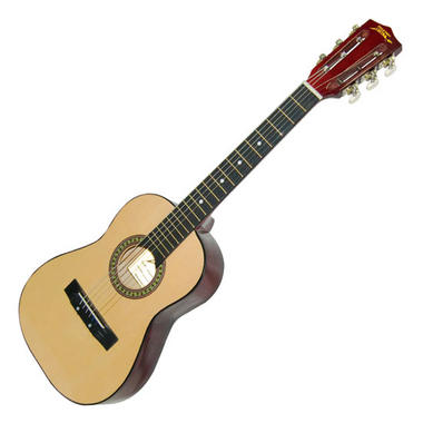 """Pyle PGAKT30 30"""" Beginner Acoustic Guitar w/ Carrying Case & Accessories Thumbnail 2"""