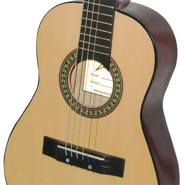 """Pyle PGAKT30 30"""" Beginner Acoustic Guitar w/ Carrying Case & Accessories Thumbnail 3"""