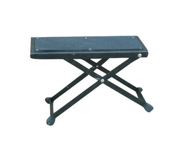 Pyle USA Adjustable Folding Portable Guitar Practice Foot Pedal Stand Rest Stool Thumbnail 1