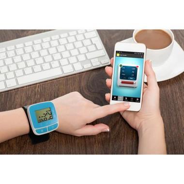 Pyle PHBPBW40BK Bluetooth Smart Blood Pressure Monitor Black Thumbnail 5