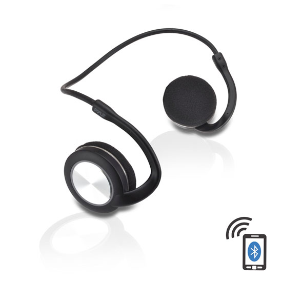 Pyle PHBT3E Bluetooth Sports Flex Headphones with Wrap Around Flexible Band and Built-In Mic Thumbnail 1