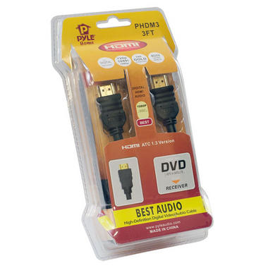 Pyle-Home PHDM3 3ft High Definition HDMI Cable Thumbnail 2