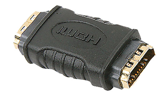 HDMI FEMALE TO HDMI FEMALE ADAPTOR Thumbnail 1