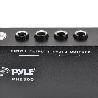 PYLE-PRO PHE300 2-Channel Hum/Noise Destroyer with TRS Inputs and Outputs Thumbnail 4
