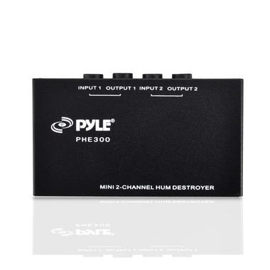 PYLE-PRO PHE300 2-Channel Hum/Noise Destroyer with TRS Inputs and Outputs Thumbnail 2