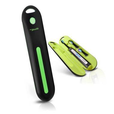 Pyle PHLSN61BK Compact Electric Toothbrush Travel Case USB Charging Black Thumbnail 1