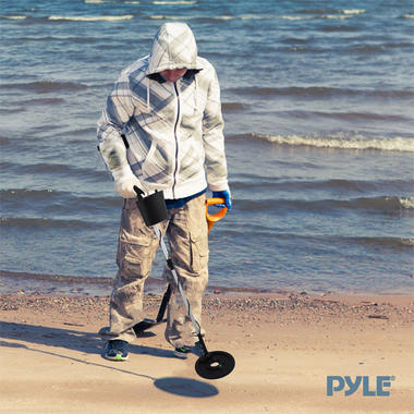 Pyle PHMD3 Discriminating Metal Detector Waterproof Submergible Search-Coil Thumbnail 5