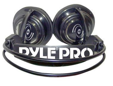 Pyle Professional Digital Stereo Closed Back Headphones DJ Keyboard Amp Ipod Thumbnail 2