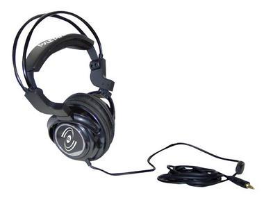 Pyle Professional Digital Stereo Closed Back Headphones DJ Keyboard Amp Ipod Thumbnail 3