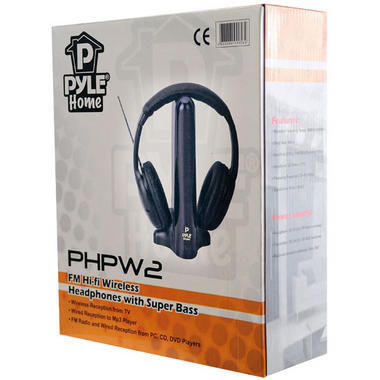 Pyle-Home PHPW2 FM Hi-fi Wireless Headphones with Extreme Bass Thumbnail 7