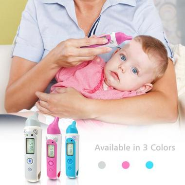 PHTM20BTGR Bluetooth Infrared Ear & Body Digital Thermometer Downloadable Pyle Thumbnail 3