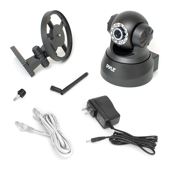 PYLE-HOME PIPCAM5 0.3 MP WIRELESS IP NETWORK CAMERA Thumbnail 3