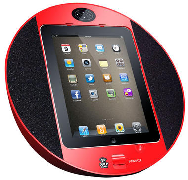 Pyle-Home PIPDSP2R Pyle Ipad Speaker System Thumbnail 1