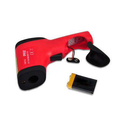 Pyle-Meters PIRT25 Compact Infrared Thermometer With Laser Targeting Handheld Thumbnail 5