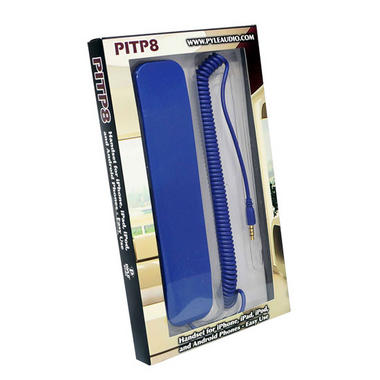 Pyle Home PITP8BL Retro Style Wired Handset for iPhone iPad Android Thumbnail 5