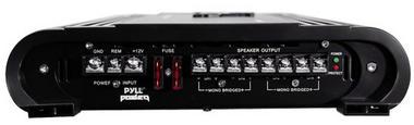 Pyle Power 4 Ch Four Channel 2000w Black Bridgeable Car Speaker Amplifier Amp Thumbnail 3