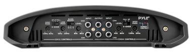 Pyle Academy 4 Ch Four Channel 1600w Blue Bridgeable Car Speaker Amplifier Amp Thumbnail 2