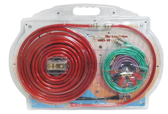 Pyle PLAM20 80A 4 Gauge AWG Power & Earth Amplifier Wiring Kit Set With 5m RCA Thumbnail 1