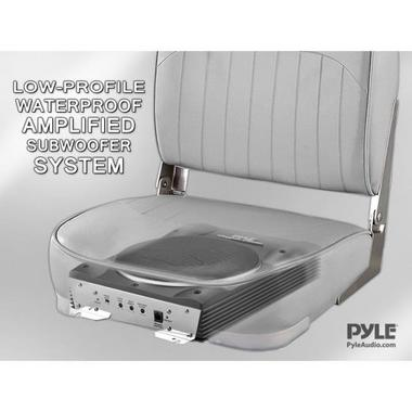 Pyle PLBASS8 8-Inch Low-Profile Super Slim Active Amplified Subwoofer System Thumbnail 5