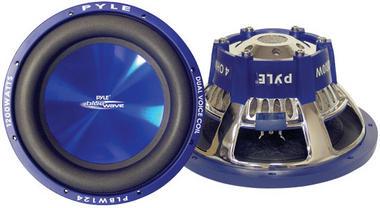 """Pyle Blue PLBW84 8"""" 600w Car Subwoofer Sub Bass Driver Car Subwoofer Sub Bass Thumbnail 1"""