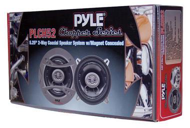 "Pyle Chopper 5.25"" 13cm 130mm 320w Car Door Shelf Two Way Coaxial Speakers Pair Thumbnail 4"