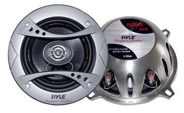 "Pyle Chopper 5.25"" 13cm 130mm 320w Car Door Shelf Two Way Coaxial Speakers Pair Thumbnail 1"
