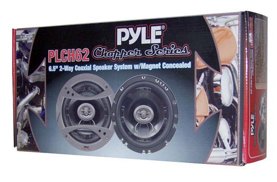 "Pyle PLCH62 6.5"" 165mm 17cm 480w Car Door Shelf Coaxial Speakers Pair Thumbnail 7"