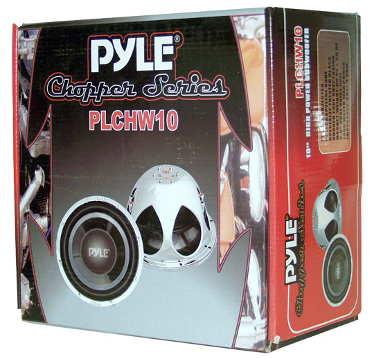 "Pyle Chopper 10"" Inch DVC 4 Ohm 1400w Car Audio Subwoofer Sub Woofer Driver Thumbnail 4"