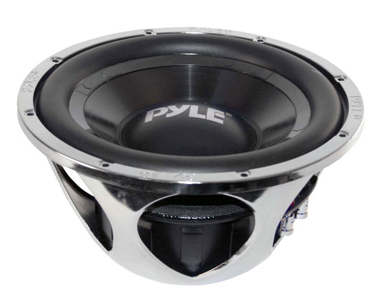 "Pyle Chopper 10"" Inch DVC 4 Ohm 1400w Car Audio Subwoofer Sub Woofer Driver Thumbnail 2"