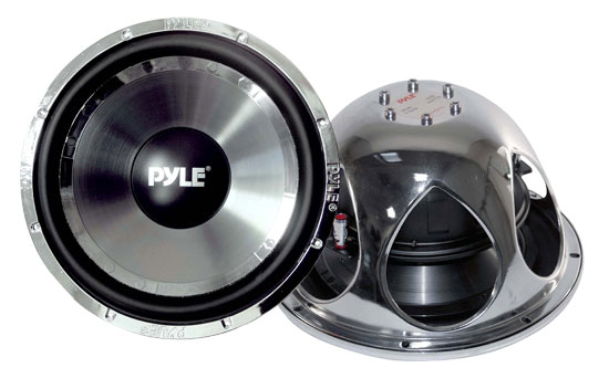 "Pyle Chopper 10"" Inch DVC 4 Ohm 1400w Car Audio Subwoofer Sub Woofer Driver Thumbnail 1"