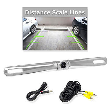 Pyle PLCM18SC Chrome Zinc Metal Rear View Camera Reversing Back Up Camera Mount Thumbnail 1