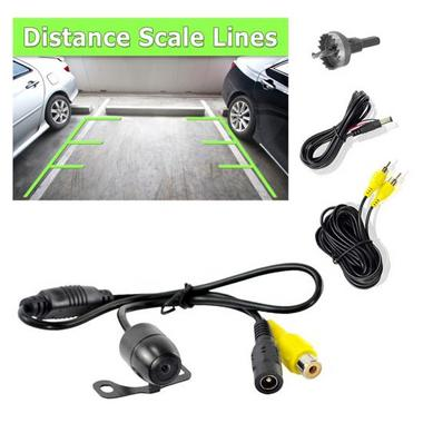 Pyle PLCM24IR Universal Mount Infrared Commercial Grade Rearview Backup Camera Thumbnail 1